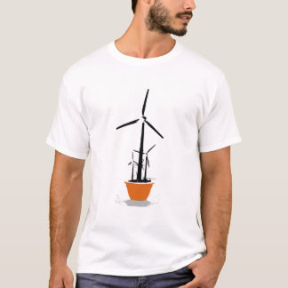 Wind Flower Power T-Shirt