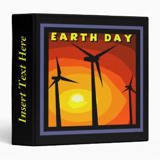 Wind Generators Earth Day Avery Binder