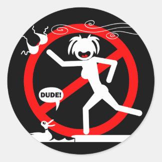 Wind Hazard Buttons ans Stickers