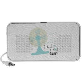 Wind In My Hair Mp3 Speakers