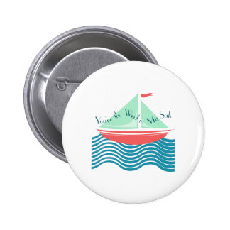 Wind In My Sails Pin