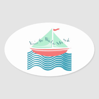 Wind In My Sails Stickers