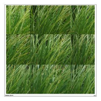Wind in the grass wall sticker
