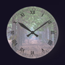 Wind in the Pines Clock