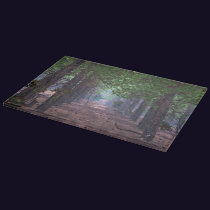 Wind in the Pines Cutting Board