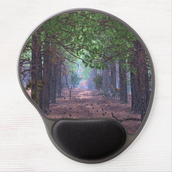 Wind in the Pines Gel Mousepad
