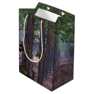 Wind in the Pines Gift Bag Medium Gift Bag