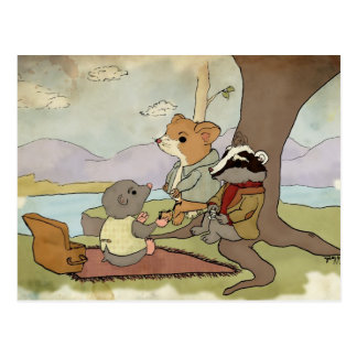 Wind in the Willows Postcard