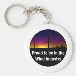 Wind Industry - Keychain