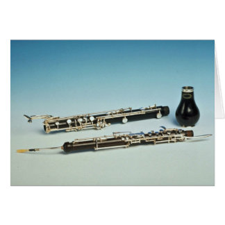 Wind instrument greeting card