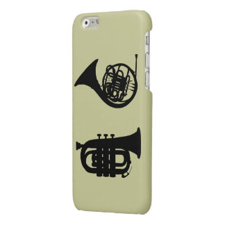 WIND INSTRUMENTS GLOSSY iPhone 6 CASE