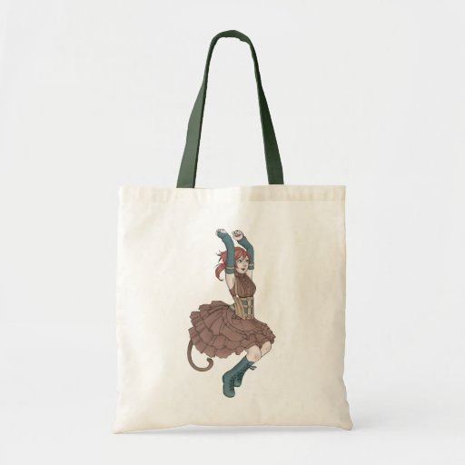 Wind Jump Tote Canvas Bag