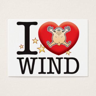 Wind Love Man Business Card
