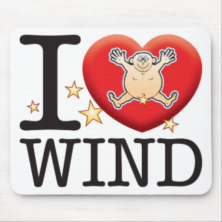 Wind Love Man Mouse Pad