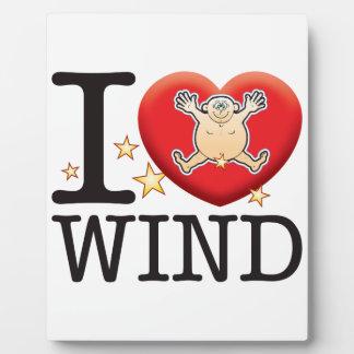 Wind Love Man Plaque