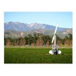 wind machine post card