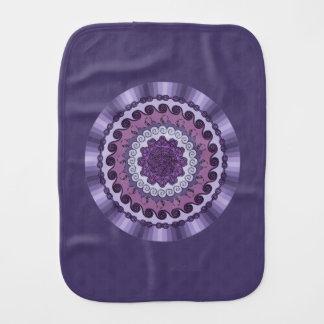 Wind Mandala Burp Cloth