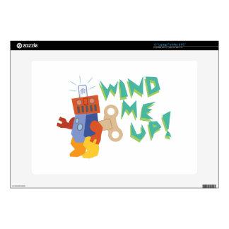 Wind Me Up! Laptop Decals