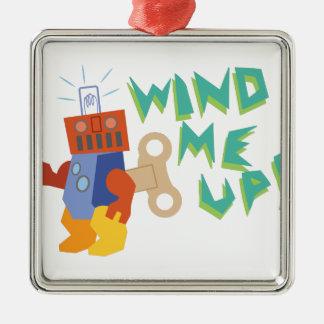 Wind Me Up! Metal Ornament