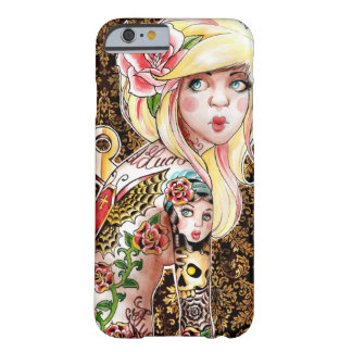 Wind Me Up Tattooed Pin Up Barely There iPhone 6 Case