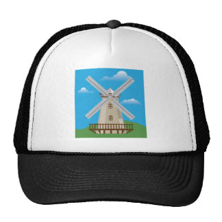 Wind Mill in Color Trucker Hat