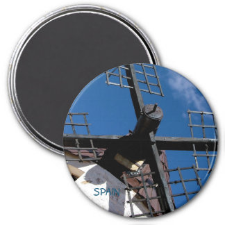 Wind mill in Consuegra, Toledo Magnet