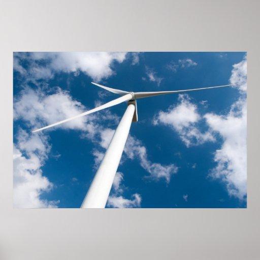 Wind mill power generator posters