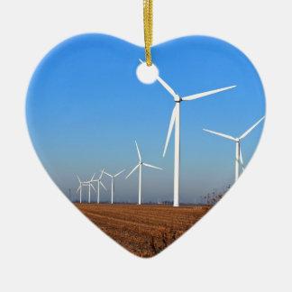 Wind mills JPG Christmas Ornament
