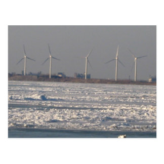 wind mills of Buffalo, NY Postcard