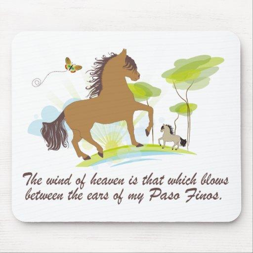 Wind of Heaven - Paso Fino Mousepad