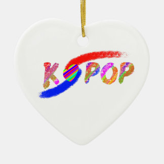 Wind of K-pop Ceramic Ornament