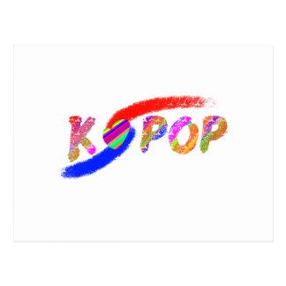 Wind of K-pop Postcard