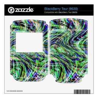 Wind Pattern Decals For BlackBerry