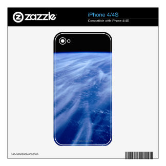 Wind Patterns Decal For iPhone 4