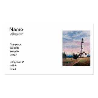 Wind Point Lighthouse Business Cards