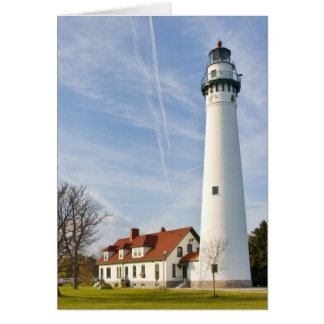 Wind Point Lighthouse Card