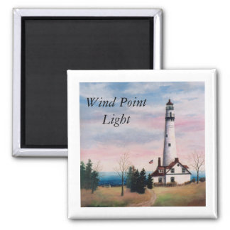 Wind Point Lighthouse Magnet