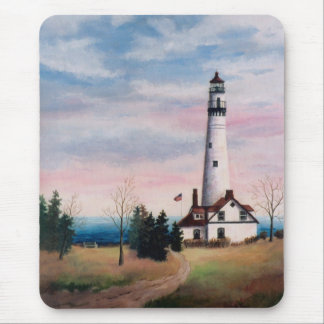 Wind Point Lighthouse Mousepad