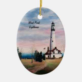 Wind Point Lighthouse Ornament