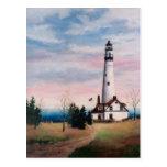 Wind Point Lighthouse Postcard