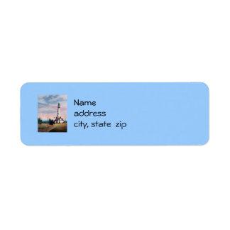 Wind Point Lighthouse Return Address Labels