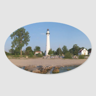 Wind Point Lighthouse Sticker