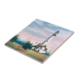 Wind Point Lighthouse Tile