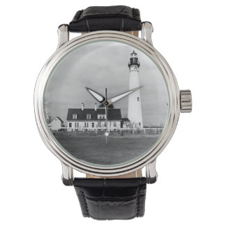 Wind Point Lighthouse Wristwatches