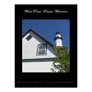 Wind Point, Racine WI Poster