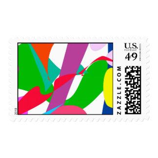 Wind Postage Stamp