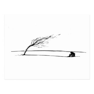 Wind Postcard