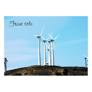Wind Power (1) Business Card Templates