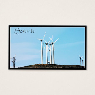 Wind Power (1) Business Card