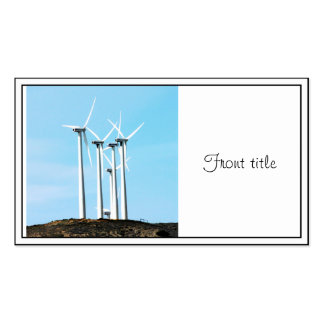 Wind Power (1) Business Cards